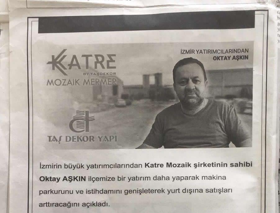 Gazetede Haber Olduk! – Büyük İzmir Torbalı Gazetesi