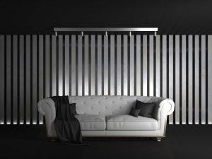 salon - siyah - beyaz